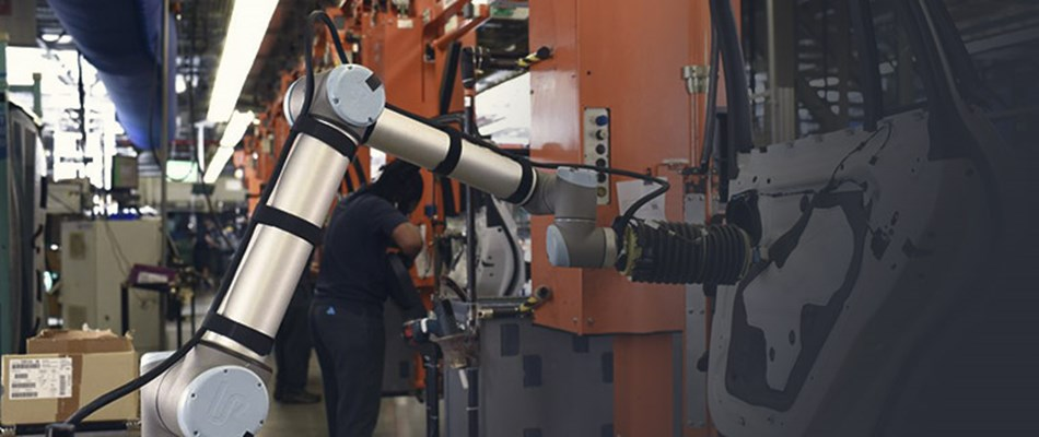Process automation utilizing collaborative robots