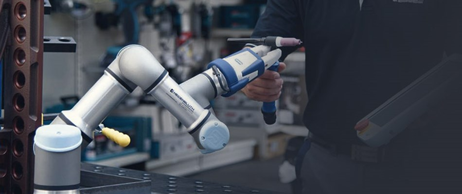 Picture of UR3 collaborative robot