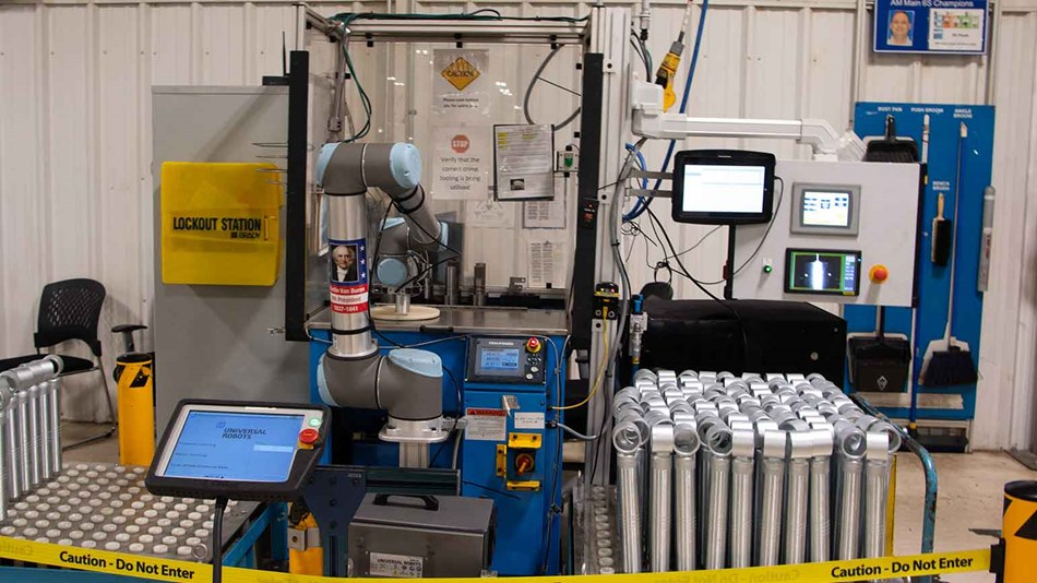 Collaborative robots in factory
