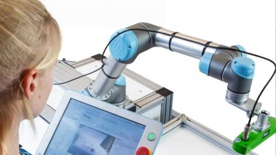 cobots to pick up randomly oriented parts of all shapes and sizes.